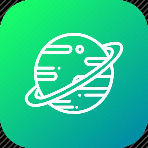 astrology, galaxy, planet, saturn, solar, system, universe icon