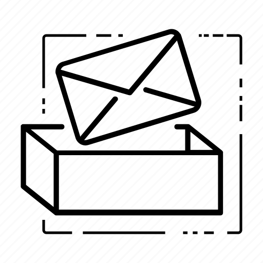 box, correspondance, email, envelope, inbox, inbox icon, mail icon