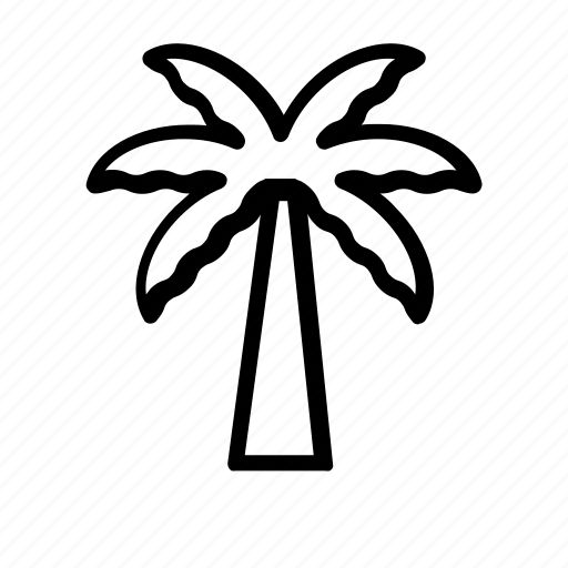 garden, gardening, nature, palm, plant, tree icon