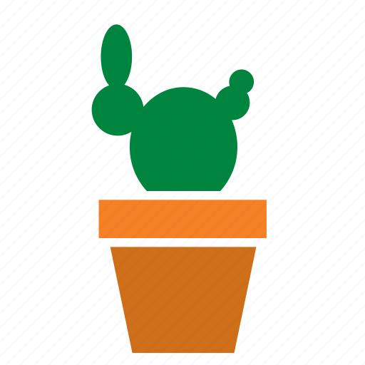 cactus, decoration, garden, nature, plant, pot icon