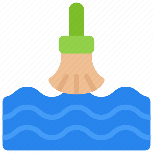 clean, ocean, plastic, pollution, up, water icon