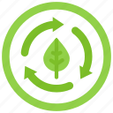biodegradable, compostable, planet, plastic, pollution, recycle icon