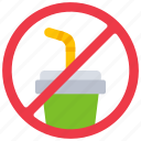 contamination, no, ocean, plastic, pollution, straws icon