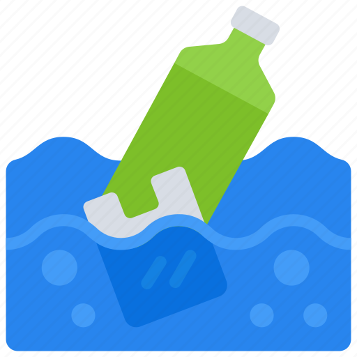 ocean, plastic, pollution, recycle, reduce, reusable icon