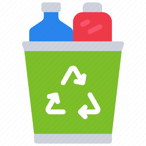 bin, plastic, pollution, recycle, reduce, reuse icon