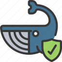 animals, ocean, plastic, pollution, protect, sealife icon