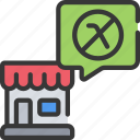 ban, plastic, pollution, reduce, shop, straw icon