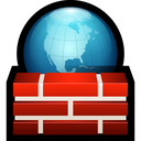 firewall, globe, network, safety, shield, world icon