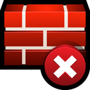 clear, error, firewall, safety, shield icon