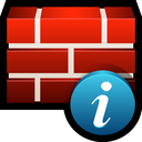 firewall, info, protect, safety, shield icon