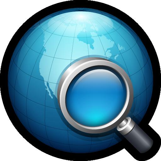find, globe, network, search, web, world icon