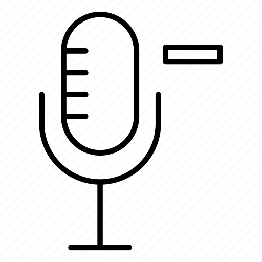microphone, mike, speaker, speech, voice icon