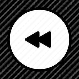 arrow, audio, down, last, media, move, music, player, pre, previous, right, video icon