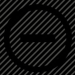 function, low, minus, player, volume, zoom icon