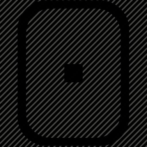 dot, keyboard, keypad, mobile icon