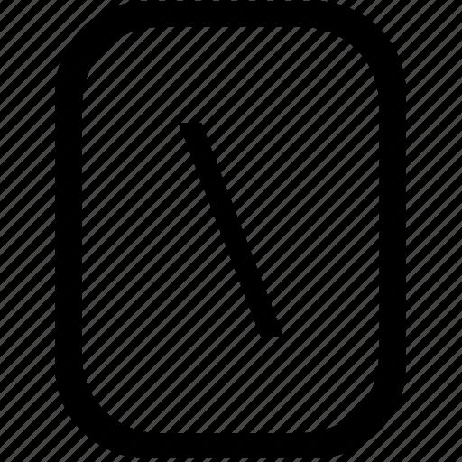 address, keyboard, keypad, left, mobile, slash, web icon