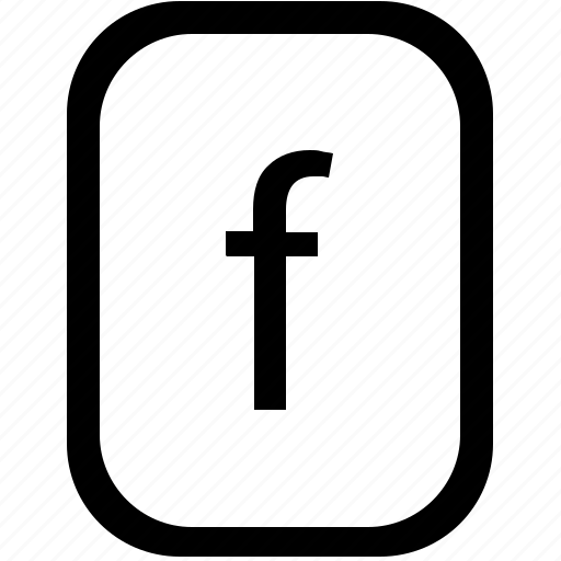 alphabet, f, keyboard, latin, letter, lowcase, mobile icon