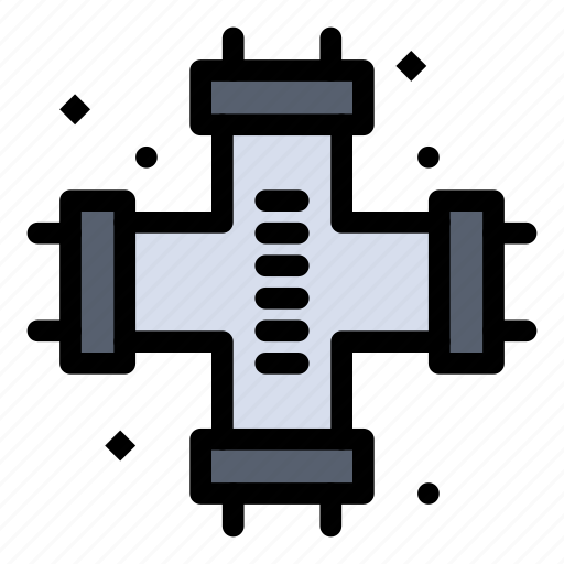 mechanical, pipes, plumber, plumbing, system icon