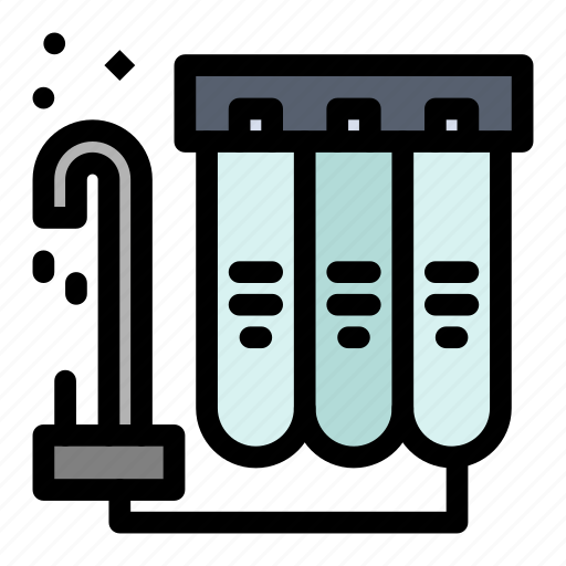 Filter, filtration, purification, water icon - Download on Iconfinder