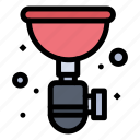 pipe, plumber, plumbing, sink, siphon icon