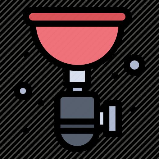 pipe, plumber, plumbing, sink, siphon icon