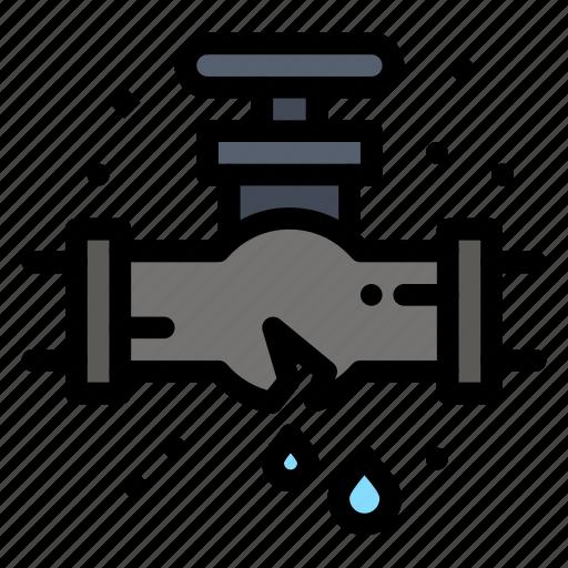 leak, mechanical, plumber, plumbing icon