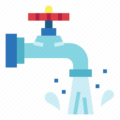 droplet, faucet, tap, water icon