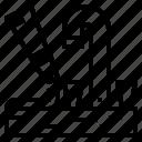caulk, construction, repair, silicone icon