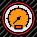 danger, gauge, manometer, measurement, temperature