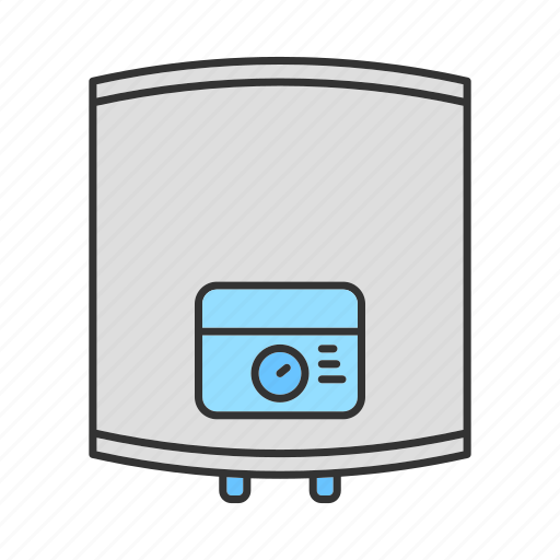 Appliance, boiler, heat, heater, home, warmer, water icon - Download on Iconfinder