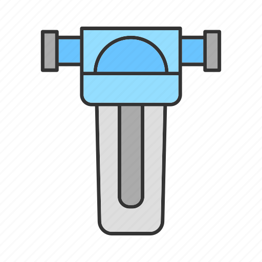 Aqua, filter, filtration, pipe, plumbing, purification, water icon - Download on Iconfinder