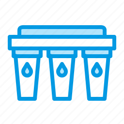filter, filtration, purification, water icon