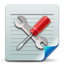 config, document icon