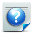 document, help icon