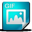 filetype, gif icon