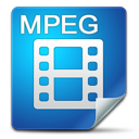 filetype, mpeg icon