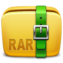 archive, folder, rar icon