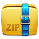 archive, folder, zip icon