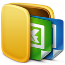 folder, office icon