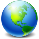 earth, network icon