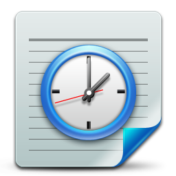 document, scheduled, tasks icon