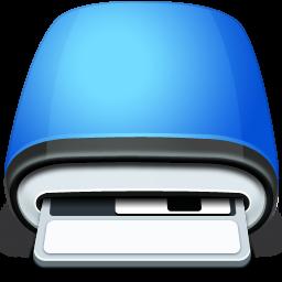 blue, drive, floppy icon