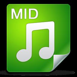 filetype, mid icon
