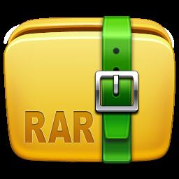archive, folder, rar icon