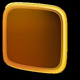 back, empty, folder icon
