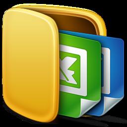 folder, office icon