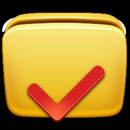folder, options icon