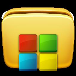 folder, programs icon