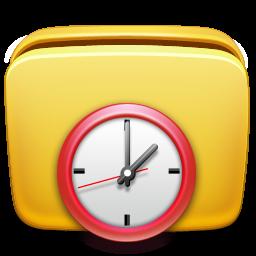 folder, scheduled, tasks icon