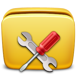 folder, settings, tools icon